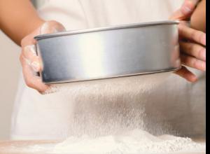 Cada receta tiene su harina