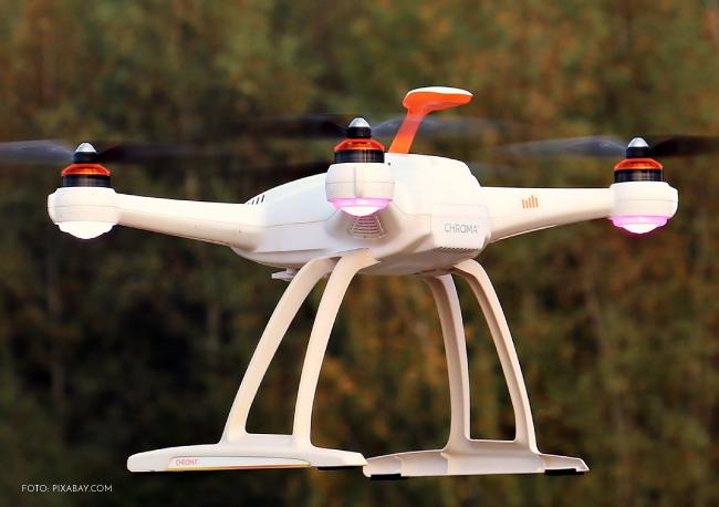 ¡Los drones; nueva  alternativa para entregar Pan!