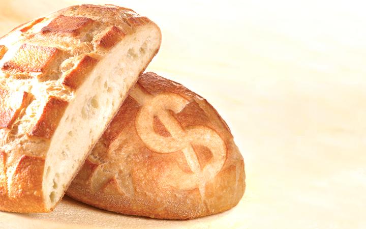 Cómo calcular el precio de venta del pan